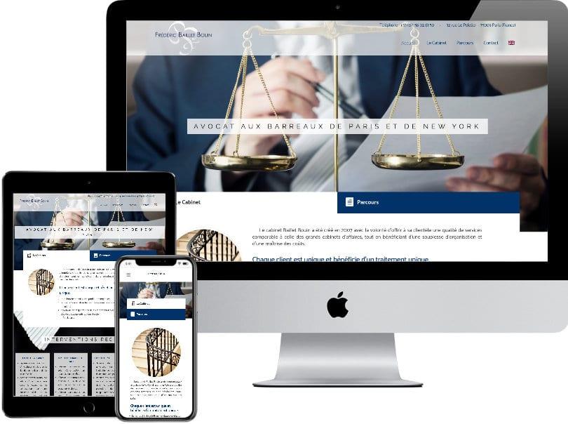 Baillet Bouin Site internet