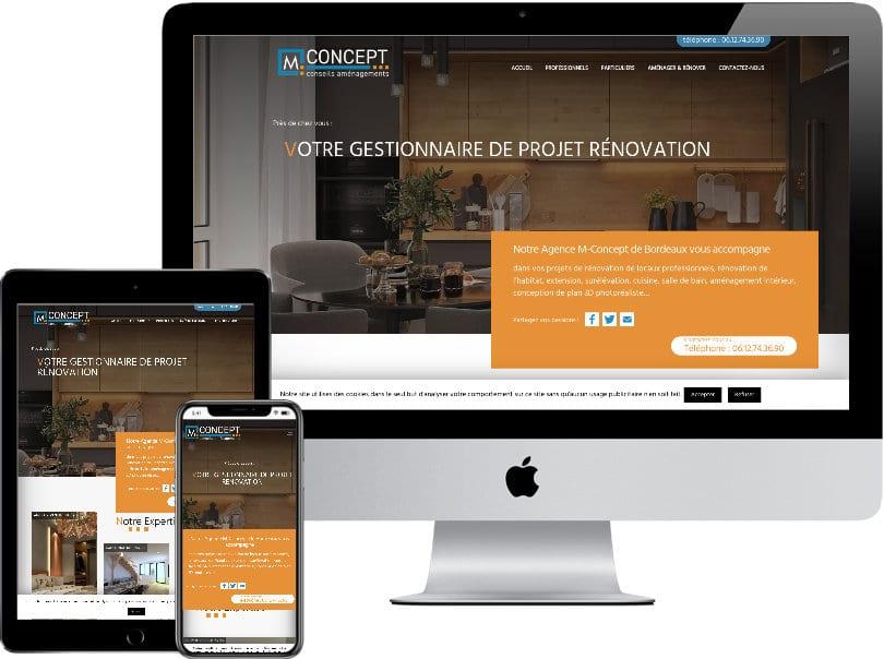 Création Sites Internet Rambouillet M Concept