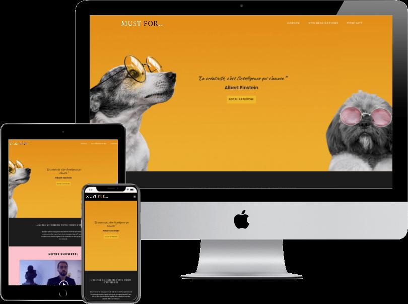 Portfolio webdesign site agence communication